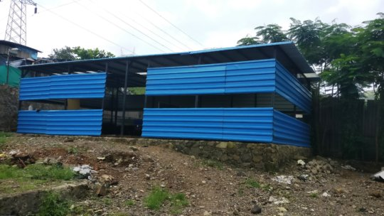 New premises of our Child Learning Center in slums