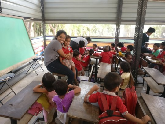 Ever-increasing child friendly volunteer family