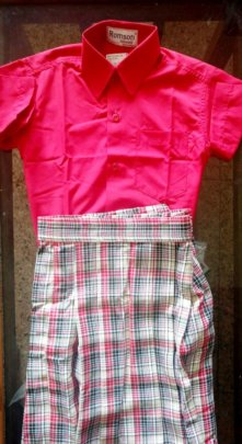 Skirt /shirt top for our Girl Child
