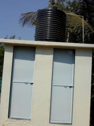 New Toilets in our Play school