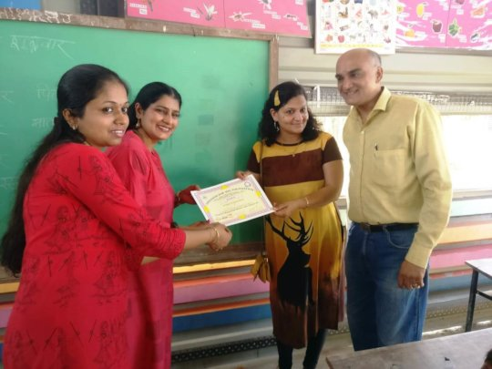 Recognizing our well-wishers with a certificate
