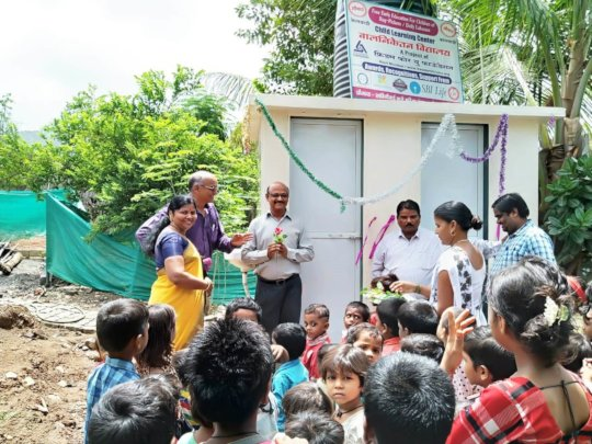Felicitation of other Guests- Toliet Inauguration
