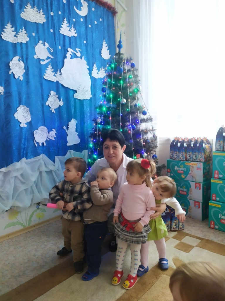 Christmas at the baby home