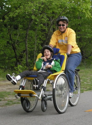 A Wheelchair Bicycle Tandem For Aksi Globalgiving