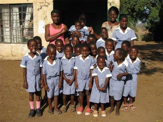 The LCV preschoolers - in BSG made uniforms!