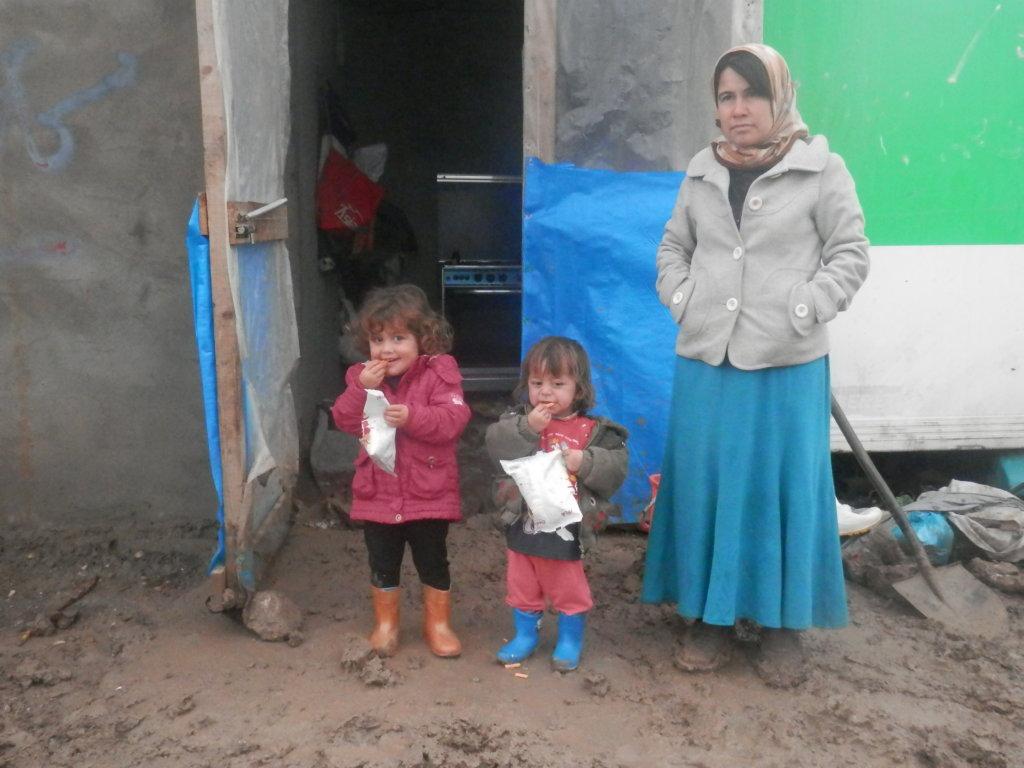 Refugees Fleeing Terror of ISIS