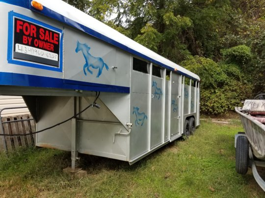 Fix Up Donated Horse Trailer