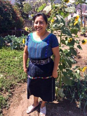 Hilda, our community health educator
