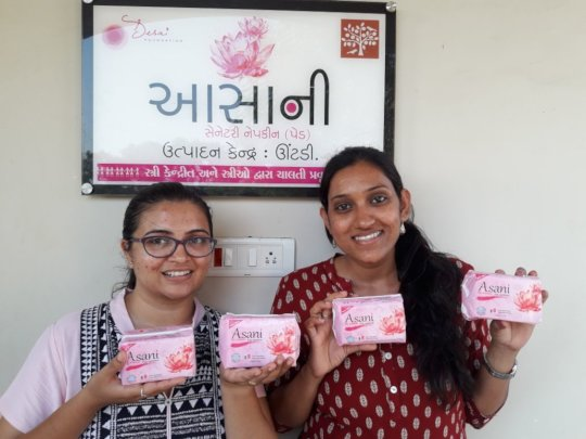 Yati and Mittal: Desai Foundation India Team
