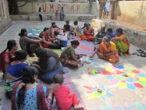 Celebration of major festivals