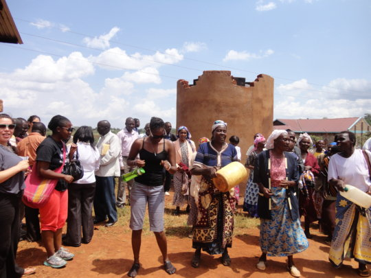 Access to water by 250 households in Kajiado