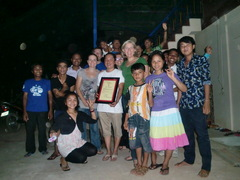 Pok, Sangkheum young adults and HOPE trustees