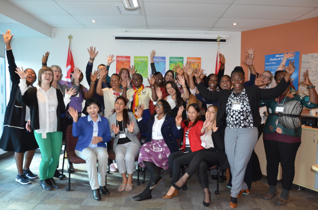 Women participants in training in Ottawa