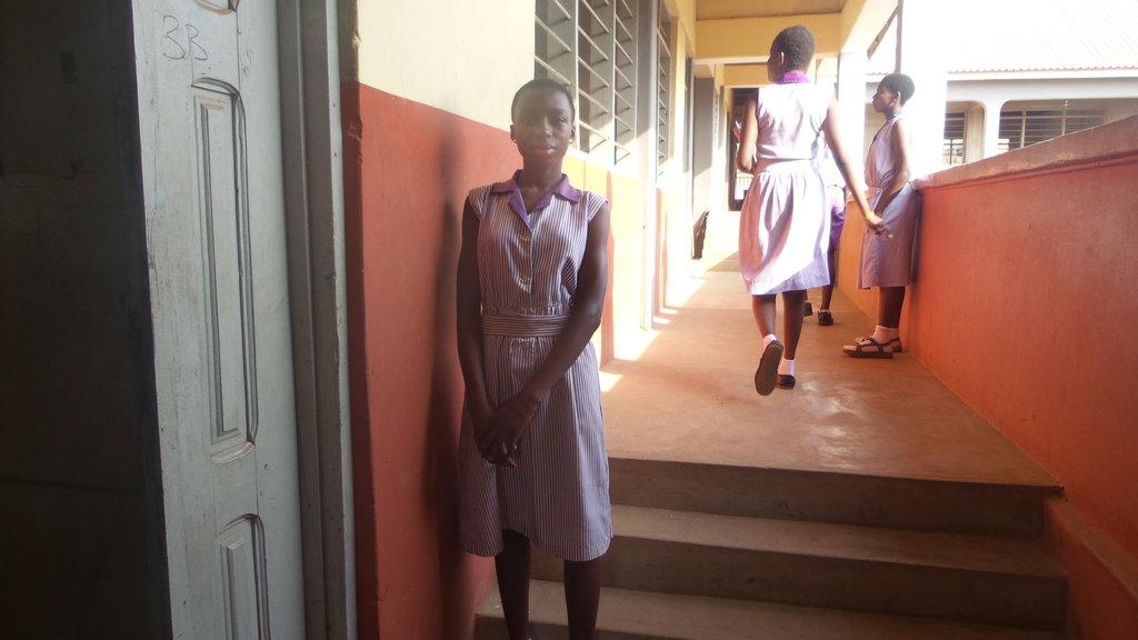 Abigail at school