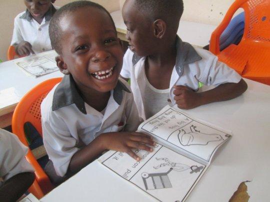 Help Underprivileged Children in Ghana