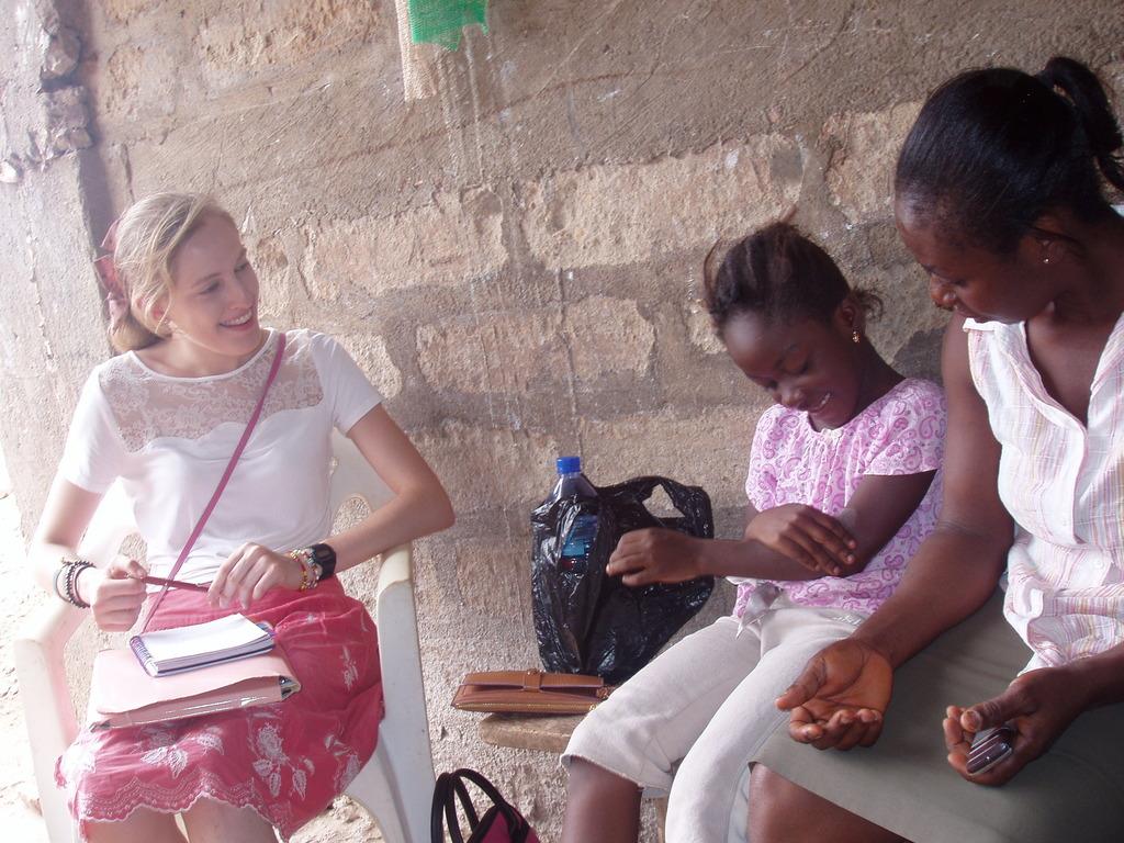 Helen at GlobalGiving visits Vera (Aug 2013)