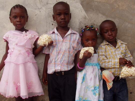 Help Underprivileged Children in Ghana