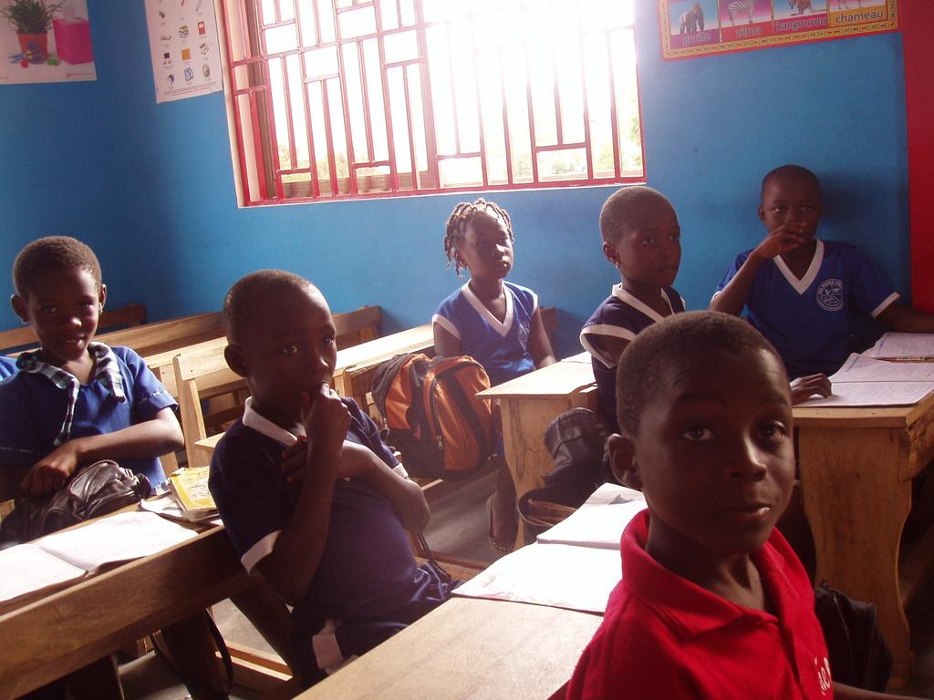 Erica in class