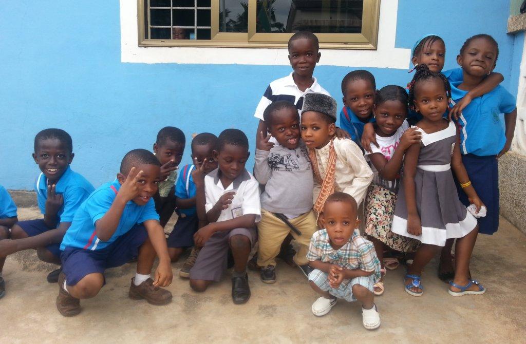 Some of the PEI children in Camira