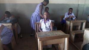 Abigail in class
