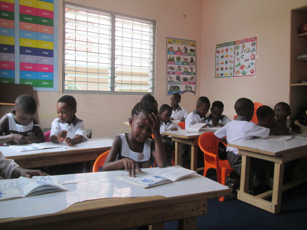 PEI Kids in Classroom