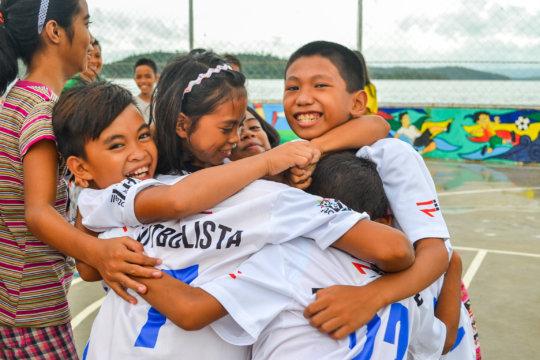 Happy Futbolista (photo by M. Inocando)