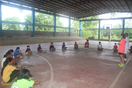 COVID-19 community led educational sessions