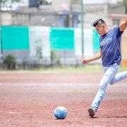 Playing Football