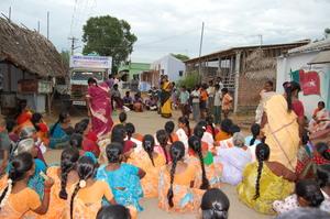 Raising awareness about the 'sumangali' scheme
