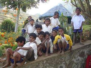Children at Vilpatti