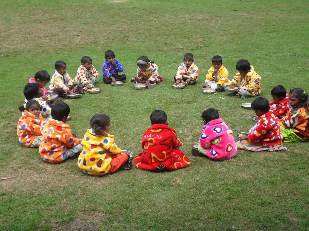 A day trip for children at Vilpatti crèche