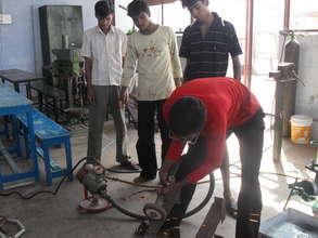 Vocational training for street children