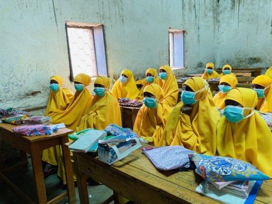 Menstrual Kit Distribution in Baidoa, Somalia