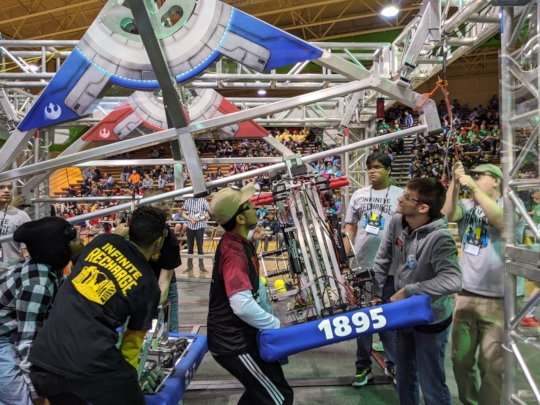 FRC Richmond Event Sponsored by Dominion Energy.