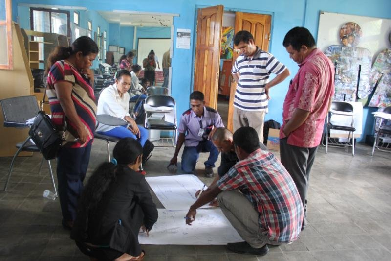 Problem Solving for 200 Traditional Leaders