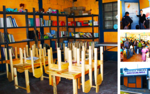 A Community's Very First Library
