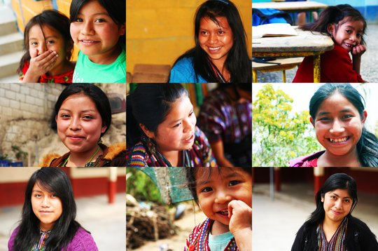 Just a few of our girls in Guatemala