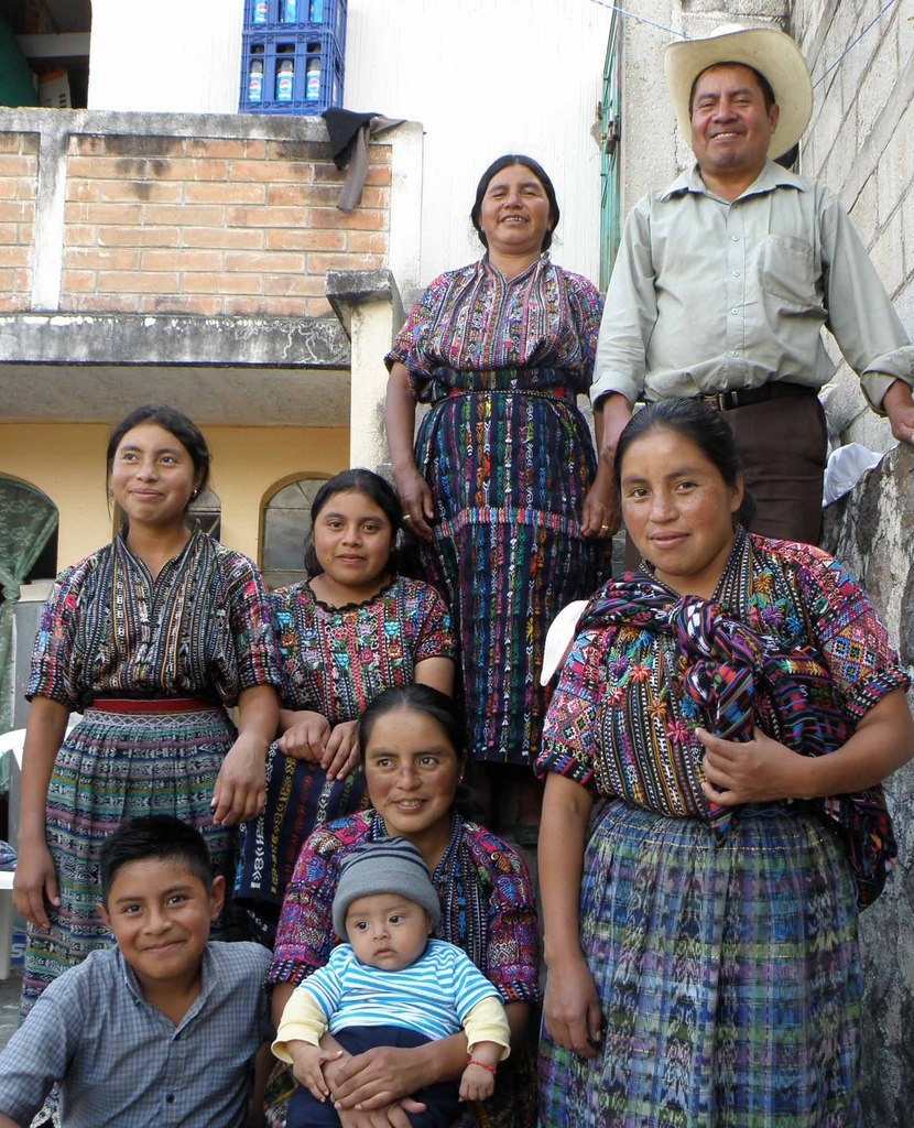 Don Martín and his family