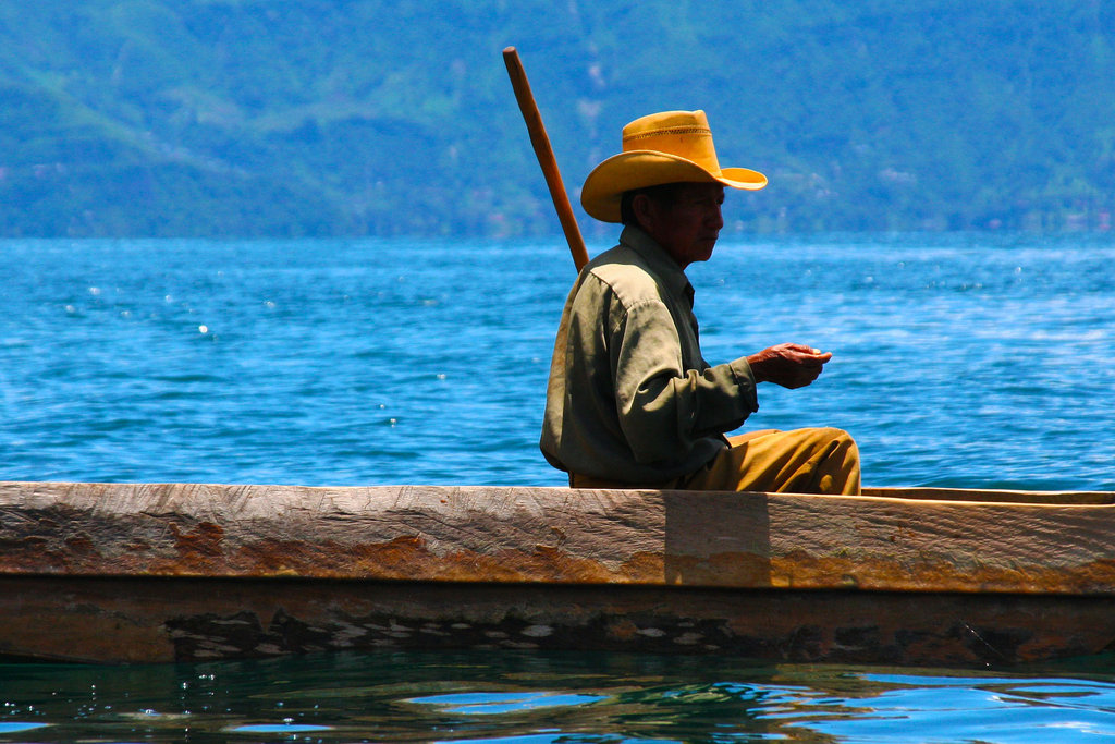 Life on Lake Atitlan Near our Project Sites