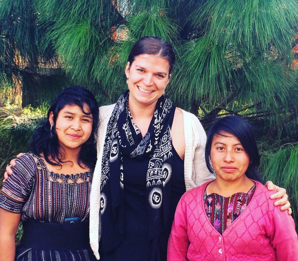 Lydia, Marcella and Sandra