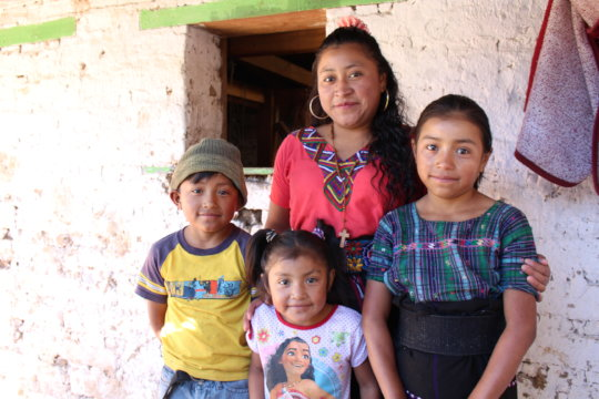 Most of these families survive on less than $4/day
