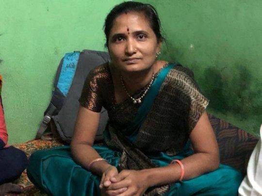 Anisha in her home