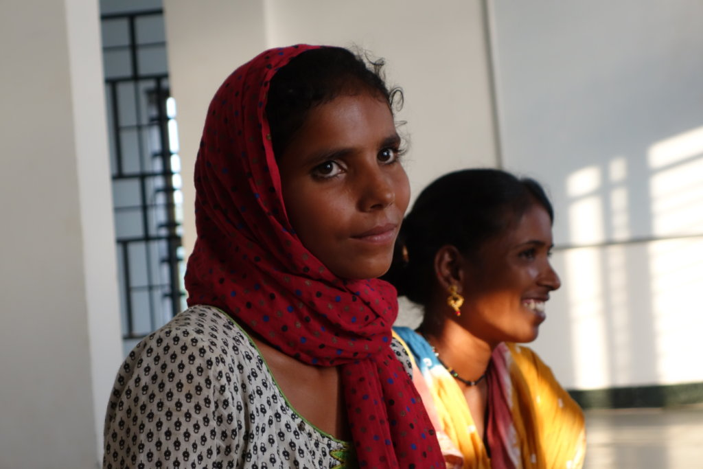 Help young women in slums to earn dignified income