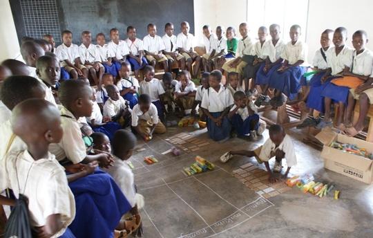 Chekereni school visit to Standard I