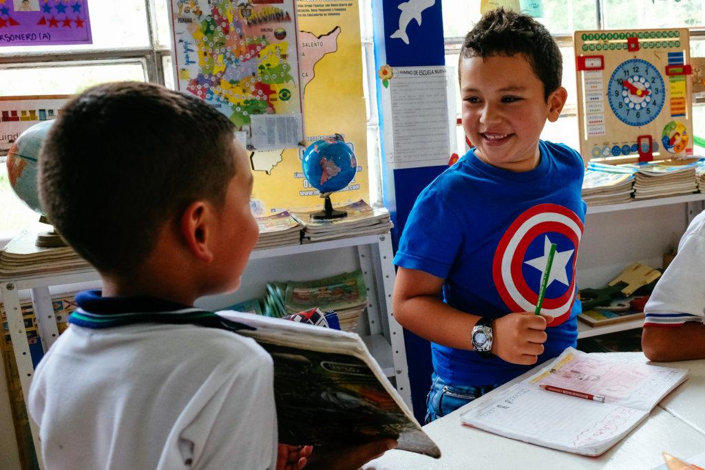 Escuela Nueva aims to prepare students for life