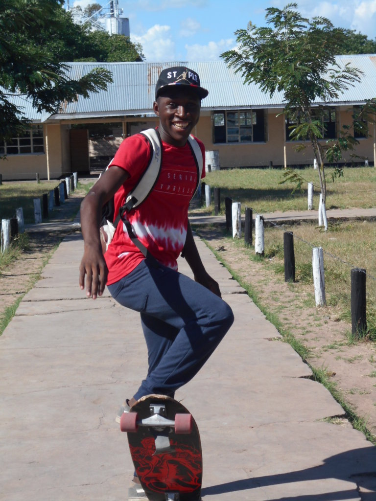 Build a Skate park in Zambia