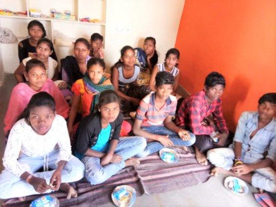 2020 New batch children in Work site school