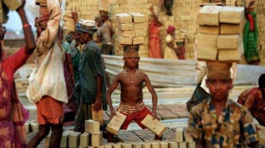 Protect & Care Child Labor in Brick Kilns in India