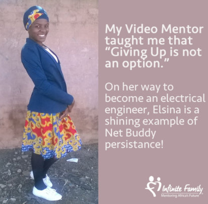 Elsina electrifies with her persistence!