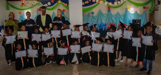 Graduation ceremony at one of our NCPs